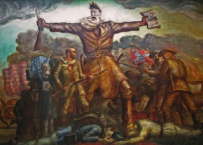 john brown hero villain Free essay: john brown as the villian or hero brown's attack on harper's ferry affected american culture more than can ever be understood tension between.